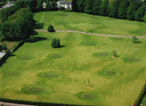 Aerial Photograph of Berties Pitch and Putt